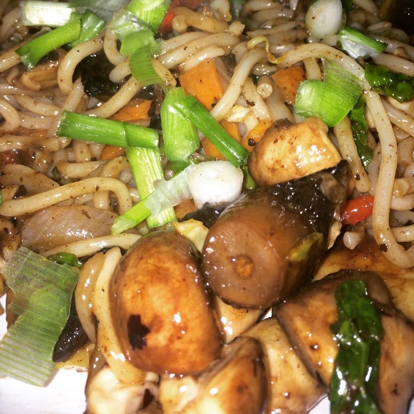 Mushroom in Black Bean
